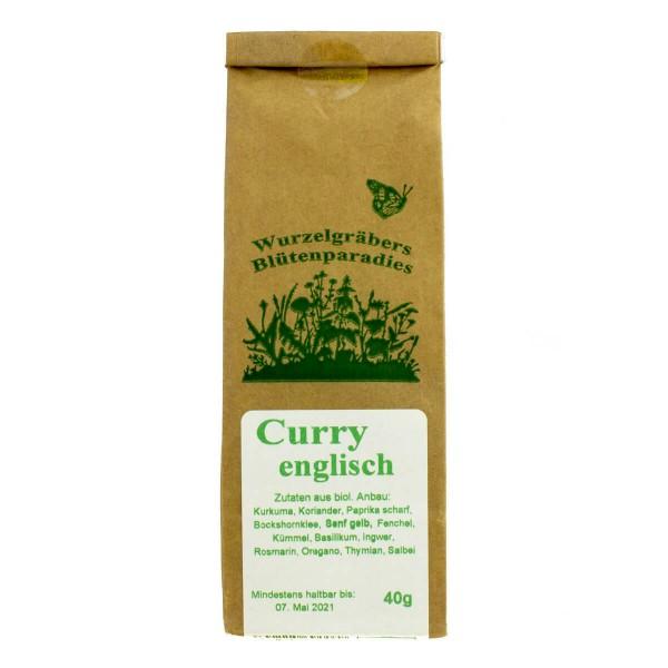 Curry englisch, milde Schärfe, 40g