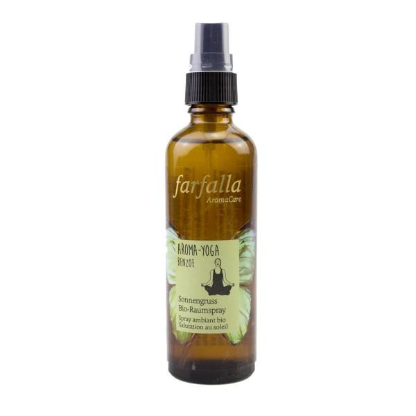 Aroma-Yoga Benzoe Sonnengruss Bio-Raumspray