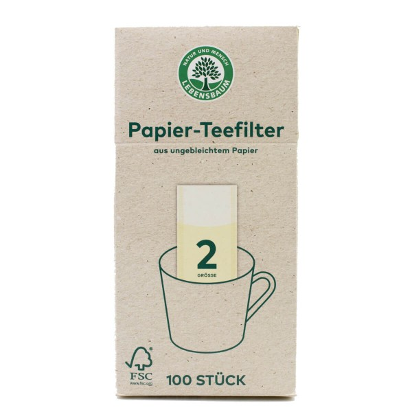 Papier-Teefilter Grösse 2