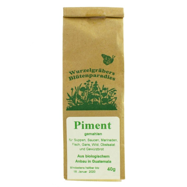 Piment, gemahlen, 40g