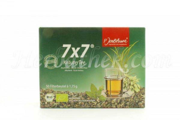 Jentschura 7x7 Kräutertee, Filterbeutel