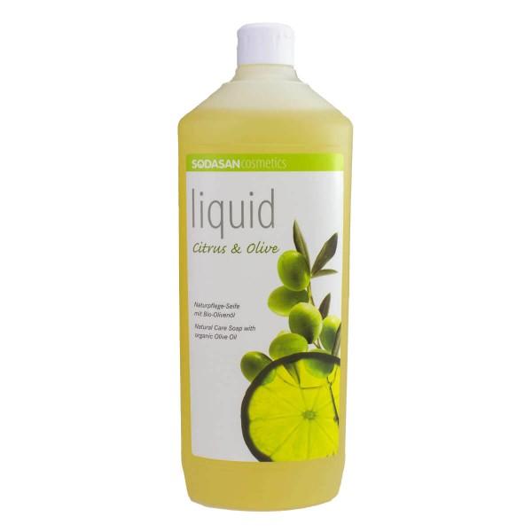Sodasan liquid Citrus & Olive Naturpflegeseife