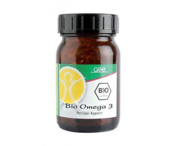 Omega 3 Perillaöl bio, 150 Kps