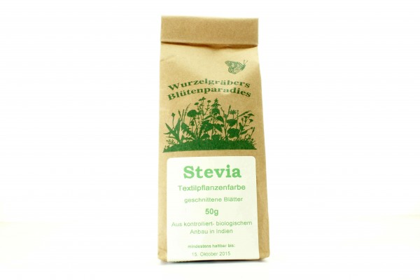 Stevia, geschnittene Blätter