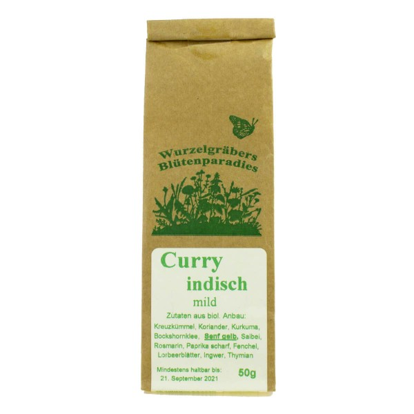 Curry indisch, mild, 50g