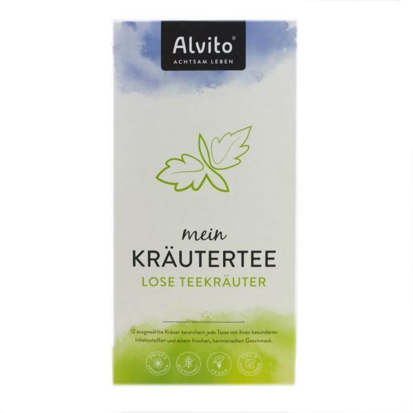 Alvito - TeeZeit, lose Teekräuter bio