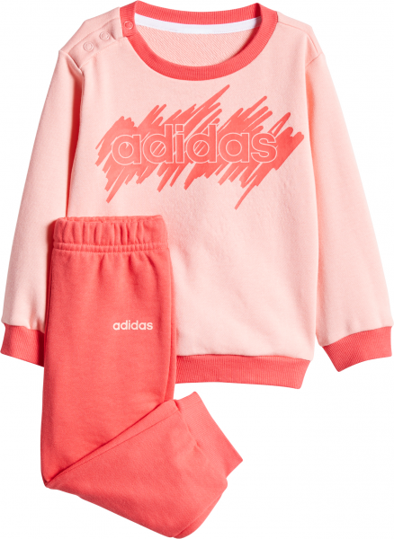 ADIDAS Kinder Sportanzug I LIN JOGG FT