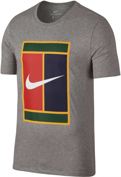 NIKE Herren Tennisshirt Kurzarm