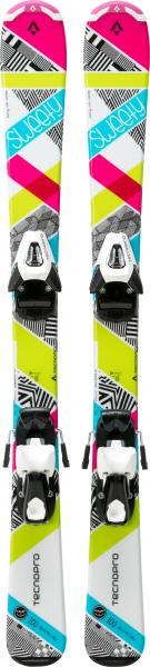 TECNOPRO Kinder Ski-Set Sweety Jr. NTC45/NTL75
