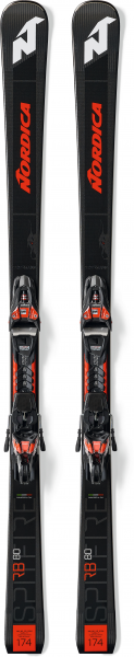 NORDICA Herren Racing Ski DOB.SPITF.80 RB FDT+XCELL12FDT