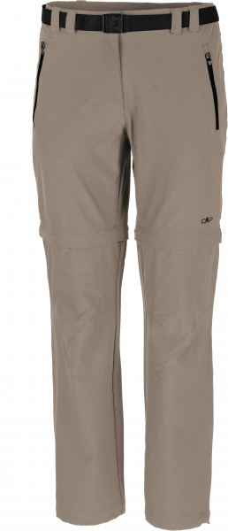 CMP Damen Shorts WOMAN LONG PANT ZIP OFF
