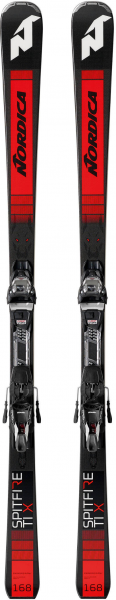 "NORDICA Skier ""Dobermann Spitfire TI X FDT"" inkl. Bindung ""TP2 Light 11"""