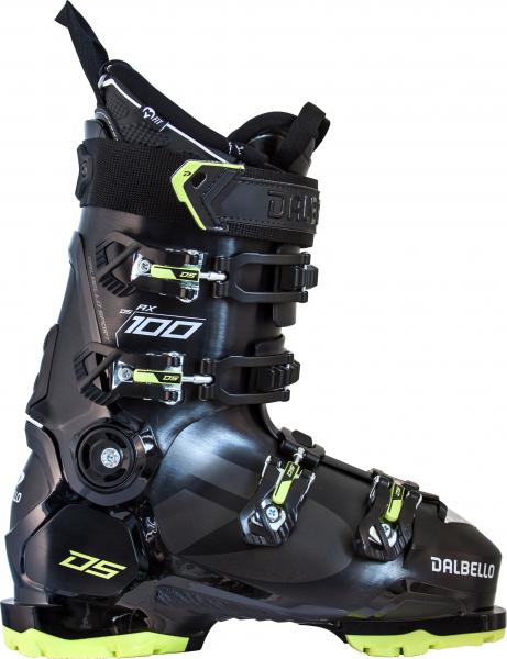 DALBELLO Herren Skischuhen DS AX 100 GW MS BLACK/ACID GREEN