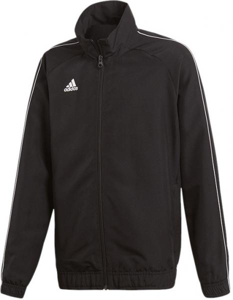 ADIDAS Fußball - Teamsport Textil - Jacken Core 18 Präsentationsjacke Kids Dunkel