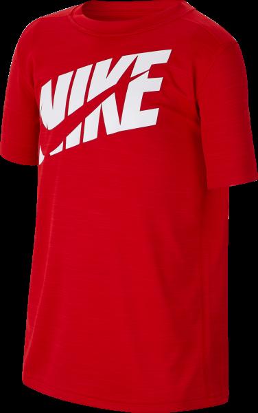 NIKE Jungen Fitness-Shirt Kurzarm
