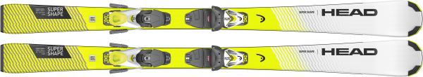 """HEAD Kinder Skier """"Supershape SLR Pro + SLR 7.5 GW AC"""""""