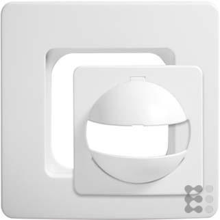 ESYLUX 2473939 Abdeckung IP20, für MD/PD 180, RAL 90, reinweiß