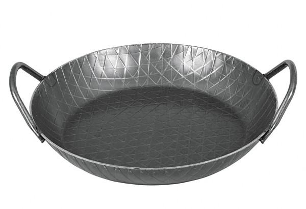Turk 65930 Servierpfanne Schmiedeeisen, 28 cm, 2 Griffe