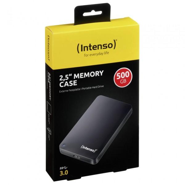 Intenso Memory Case 500GB 2,5 USB 3.0 schwarz