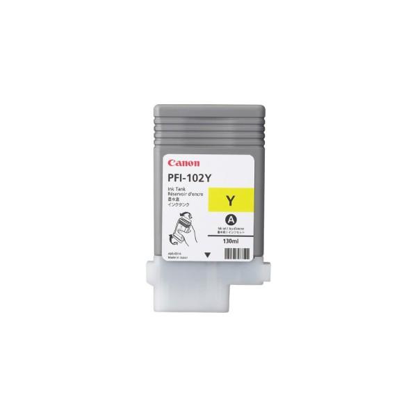 CANON PFI-102y Tinte gelb iPF500 iPF600 iPF700 iP710 iPF720