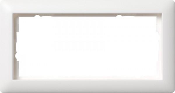 GIRA Abdeckrahmen 2f o.M. Standard 55 Reinweiß m