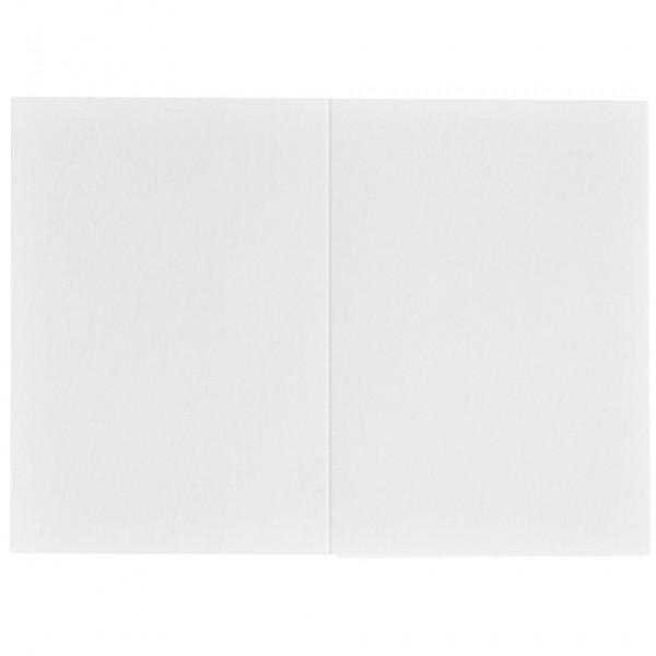 1x100 Daiber Passbildmappen weißmatt 36x50 mm