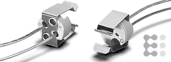 Houben Fassung GU5,3 Ker,bg,Schr.M3,140mm 106457