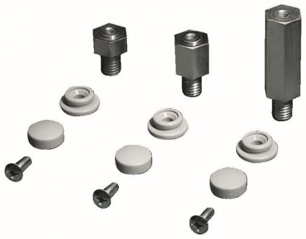 Rittal DK 7967.000 Rack-Zubehör, Silber, TS, 50 mm, 4 Stück, 540 g