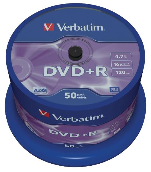 4G Systems Verbatim - DVD+R 4,7GB 16x 50er Spindel