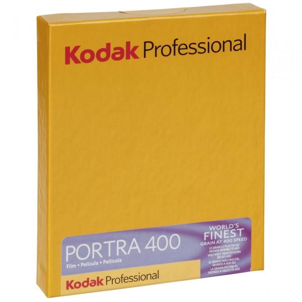 1 Kodak Portra 400 4x5 10 Blatt