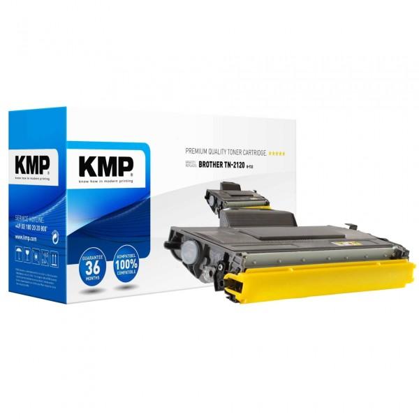 KMP B-T22 Toner schwarz XXL kompatibel mit Brother TN-2120 X
