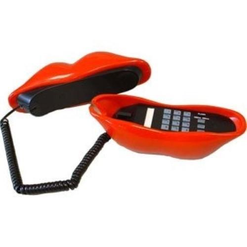 Superfone Walt Disney Fun-Telefon Hot Lips red