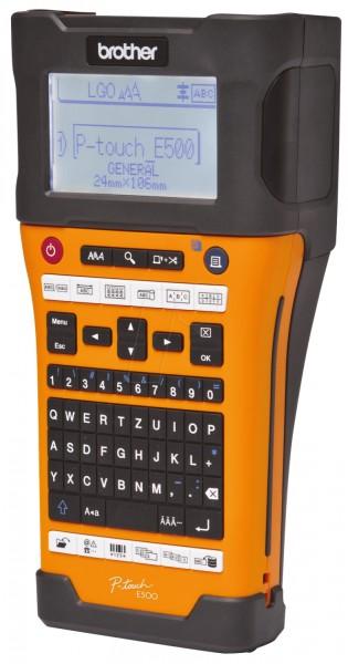 BROTHER P-touch E500VP Beschriftungsgeraet