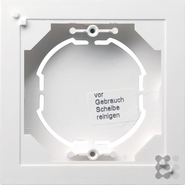 GIRA AP-Gehäuse 1f flach Standard 55 Reinweiß