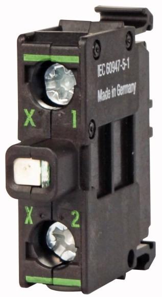 Eaton 216561 Leuchtelement, LED, rot, Bodenbefestigung, 12-30 V AC/DC, Schraubanschluss