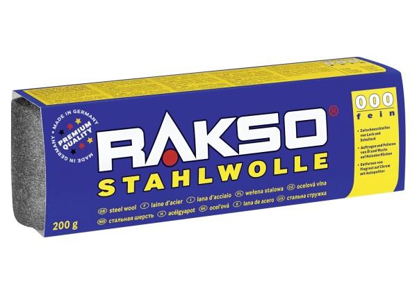 RAKSO Rasko Stahlwolle Sorte 000
