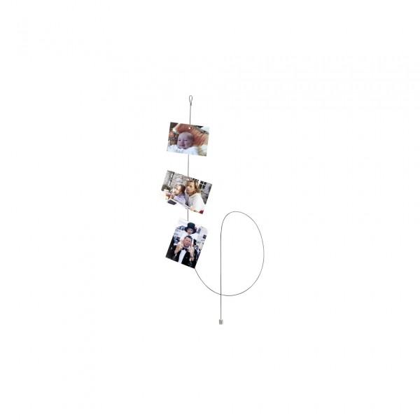 Walther Fotoseil 1,5 m silber Magnet rund/klein MD150S