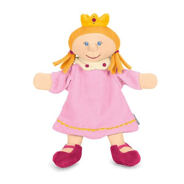 Sterntaler 3601653 - Handpuppe Prinzessin, rosa/gelb