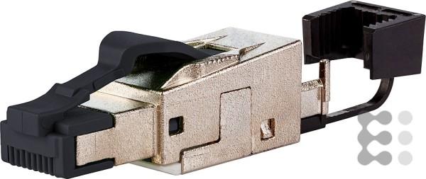 Metz Connect Field Plug Pro C6A RJ45 Netzwerkanschluss (2-teiliges Gehäuse, Schutzart IP20, wiederan