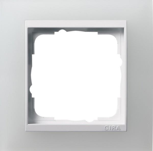 Abdeckrahmen 1f Zwischenr. RW Gira Event Opak Weiß