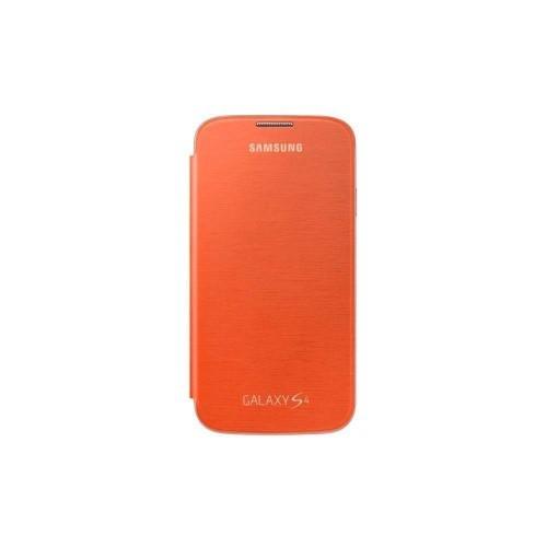Samsung Flip-Cover für Galaxy S4 Orange