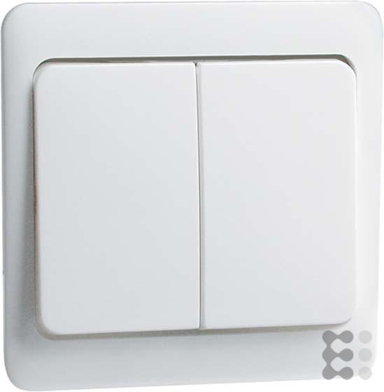 Peha 00187811 Standart Wippe 58 x 49 mm, für Wechselschalter und Doppeltaster, reinweiß
