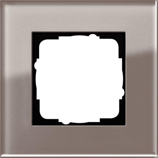 Gira 0211122 Abdeckrahmen 1 fach Esprit Glas, umbra