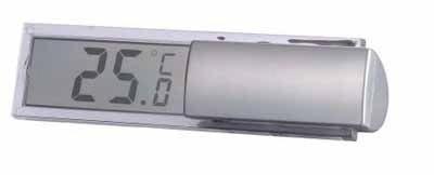 Technoline Fensterthermometer WS 7026 - ein digitales Thermometer mit halb-transparentem Display - k