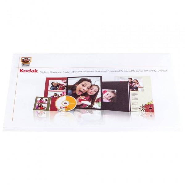 1x500 Kodak Kiosk Bildertaschen 15x20 + CD-Slot