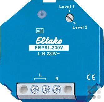 Eltako Repeater Funk 1- und 2-Level FRP61-230V, 4947812