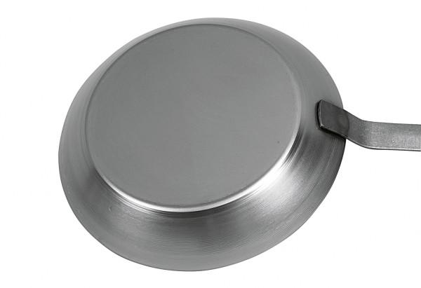 TURK Eisenpfannepfanne 28 cm mit flachem Stiel