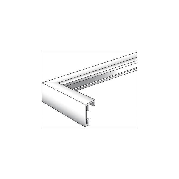 Walther Chair 20x30 Aluminium silber AJ030S