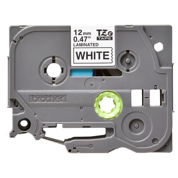 Brother Schriftbandkassette TZE-231 weiß/schwarz 12 mm