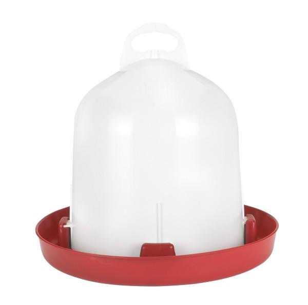 Tränke Kunststoff Doppelz. 6l für Hühner